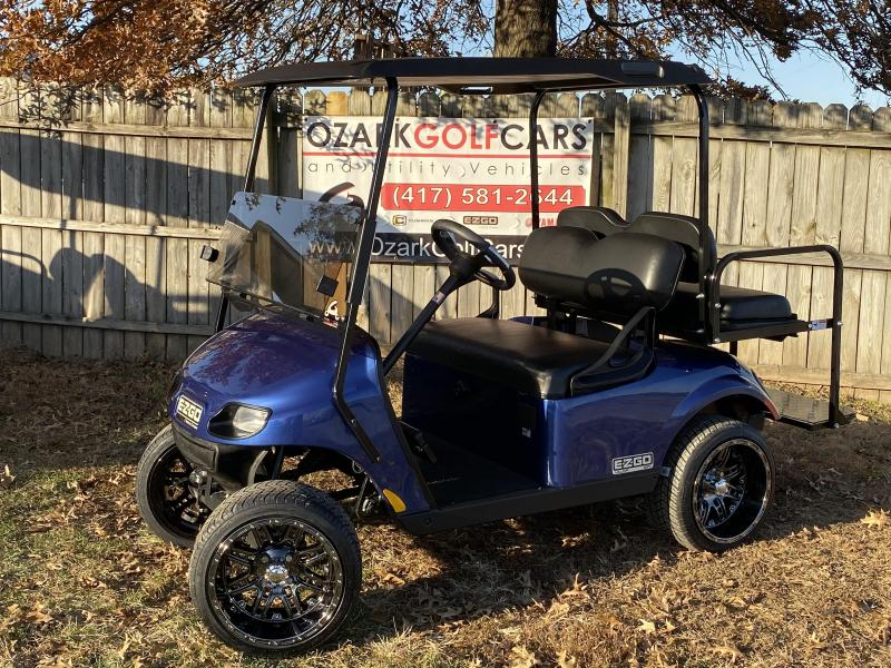 2020 E-Z-GO VALOR-4 PASSENGER-ELECTRIC BLUE-EFI(GAS)