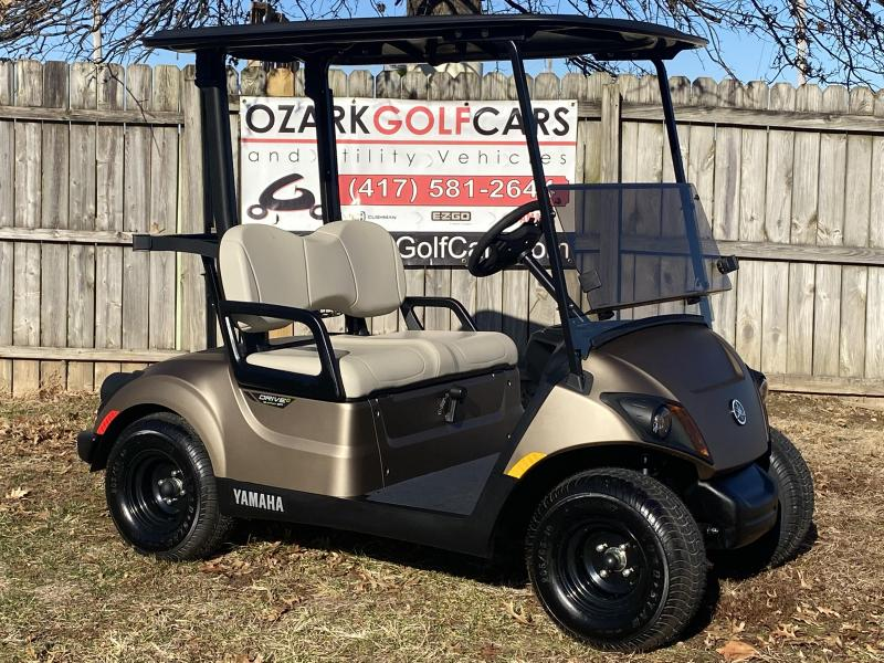 2020 YAMAHA DRIVE 2 QUIETECH PTV-MICA MATTE GOLD Golf Cart