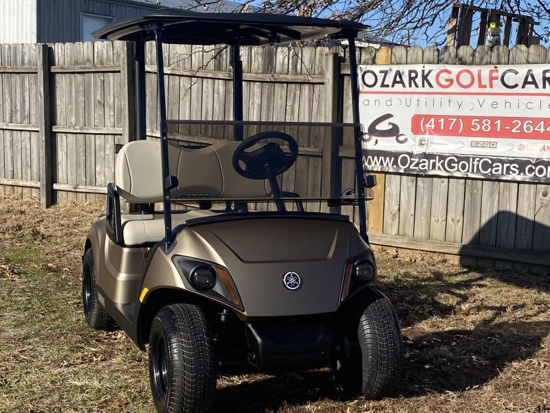2020 YAMAHA DRIVE 2 QUIETECH PTV-MICA MATTE GOLD Golf Cart
