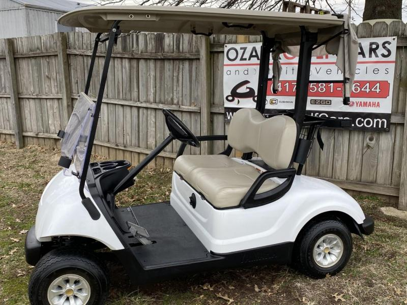 2016 Yamaha DRIVE 48 Volt White Golf Cart