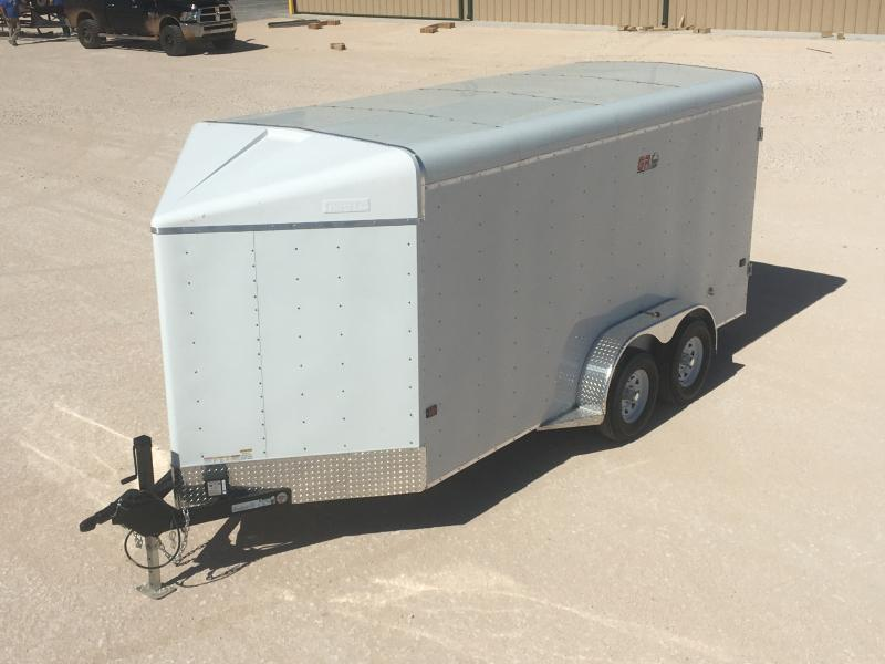 "2020 GR Trailers 6'6""X16' Cargo / Enclosed Trailer"