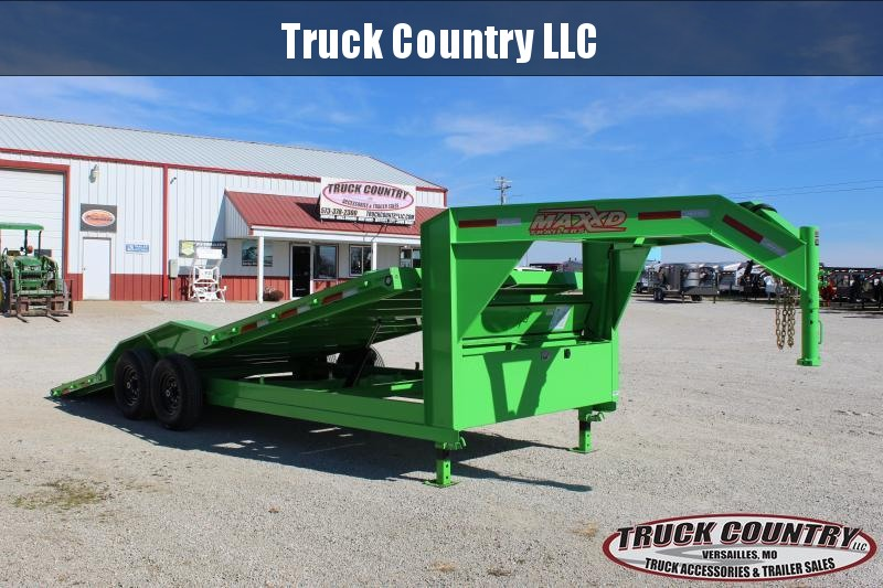 2020 MAXXD T6X 102x22 gooseneck tilt Equipment Trailer
