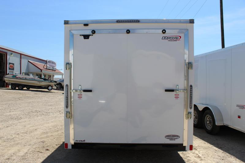 2019 Bravo Trailers 7x16 scout Enclosed Cargo Trailer