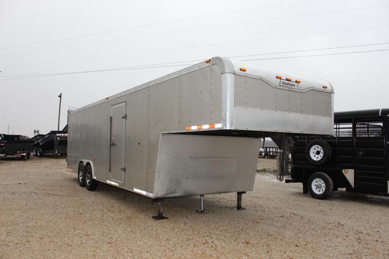 2010 Haulmark 32' gooseneck Enclosed Cargo Trailer