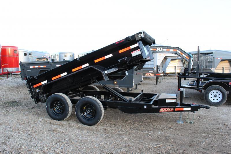 2020 MAXXD D5X 5x10 Dump Trailer