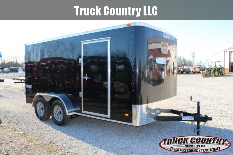 2020 Bravo Trailers 7x14 Hero Enclosed Cargo Trailer