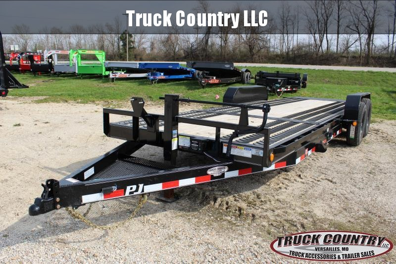 2020 PJ Trailers T6 22' tilt Equipment Trailer