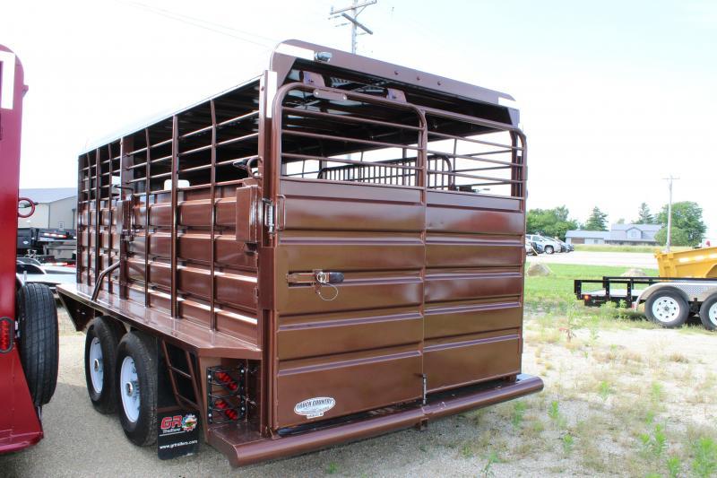 2019 GR Trailers 6.8'x16' Livestock Trailer