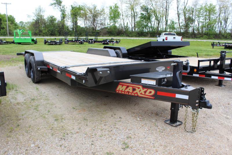 2020 MAXXD G8X 83x22 gravity tilt Equipment Trailer