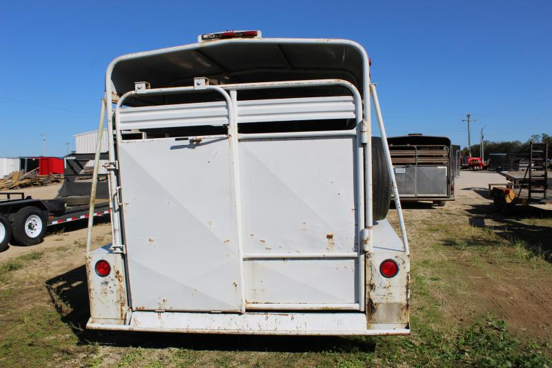 1985 Coose 18 gooseneck Livestock Trailer