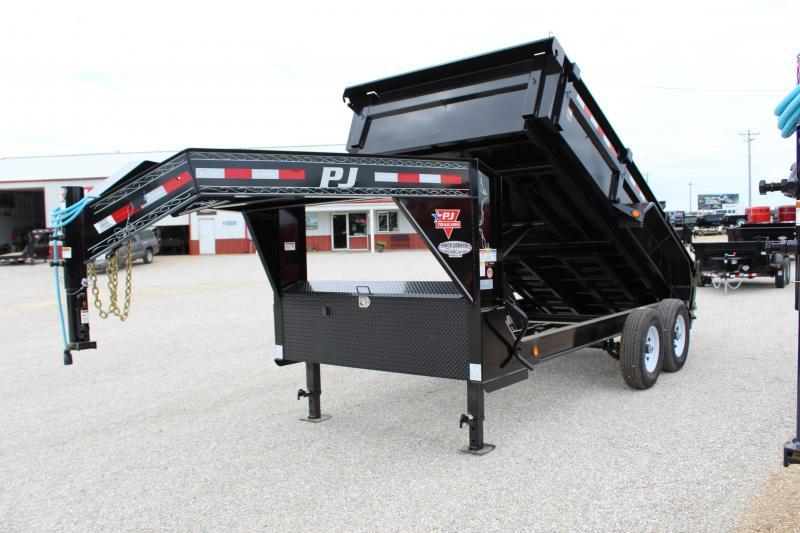 2020 PJ Trailers DL 14 gooseneck dump Dump Trailer