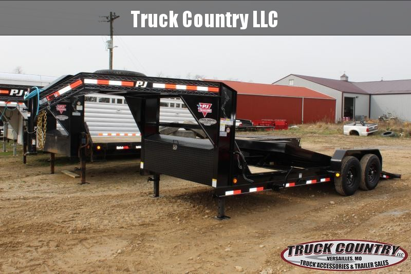 2020 PJ Trailers T6 20' gooseneck tilt Equipment Trailer