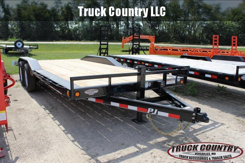 2020 PJ Trailers B6 20 superwide Equipment Trailer