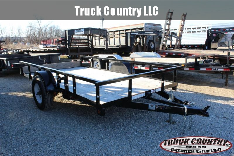 "2018 Trailerman Trailers Inc. 76""x12 tilt Utility Trailer"