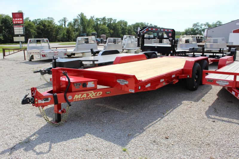 2020 MAXXD T6X 20' tilt Equipment Trailer