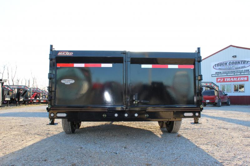 2020 MAXXD DJX 14' flare side Dump Trailer