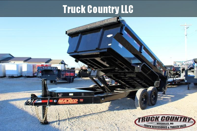 2020 MAXXD DJX 14' flare side Dump Trailer
