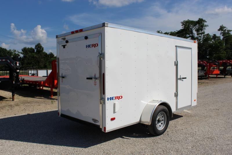 2019 Bravo Trailers 6x12 Hero Enclosed Cargo Trailer