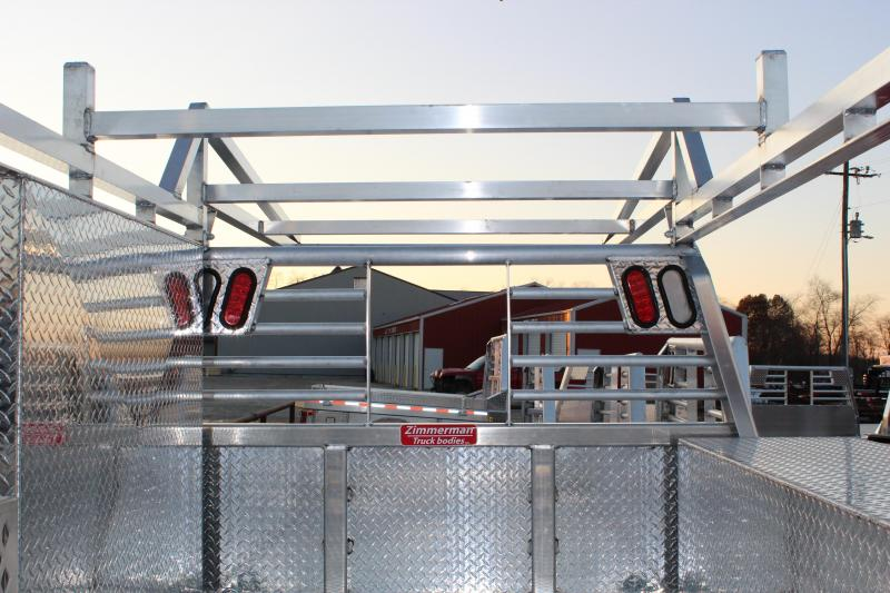 Zimmerman Contractor series aluminum Truck Bed