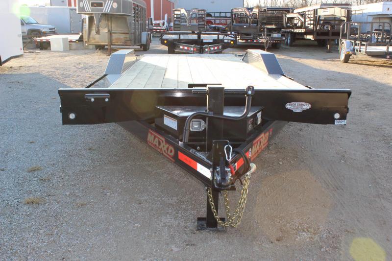 """2020 MAXXD T6X 102""""x22' superwide power tilt Equipment Trailer"""