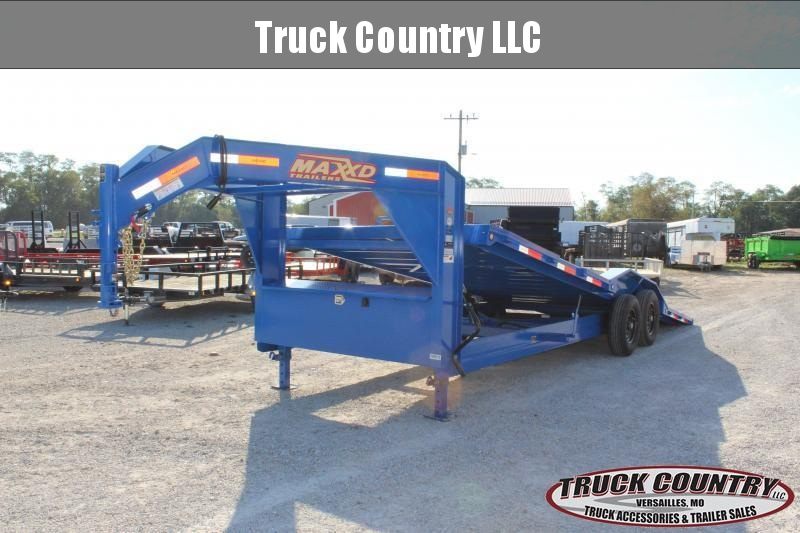 2020 MAXXD T6X 102x24 gooseneck tilt Equipment Trailer