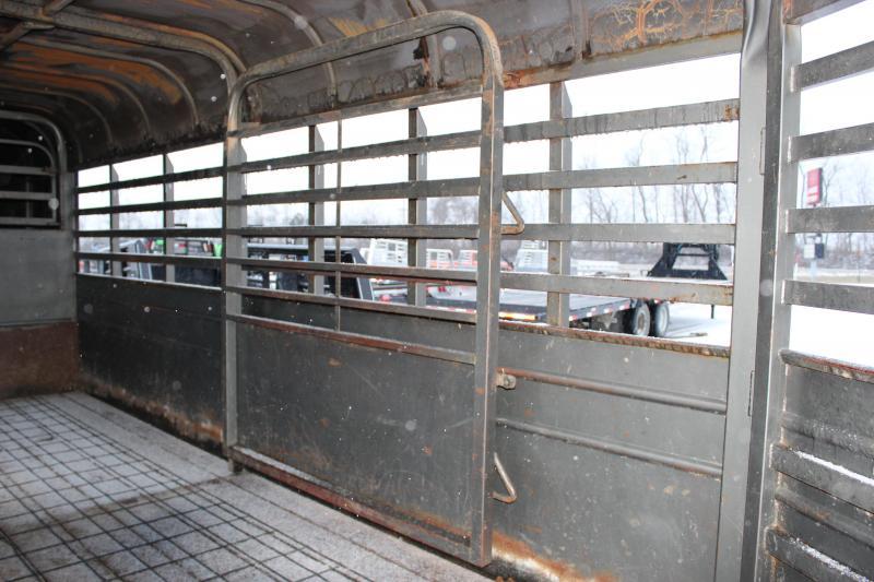 1987 Kiefer Built 6x16 Livestock Trailer