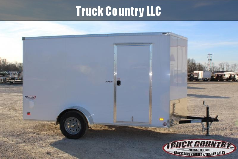 2020 Bravo Trailers 6x12 scout Enclosed Cargo Trailer