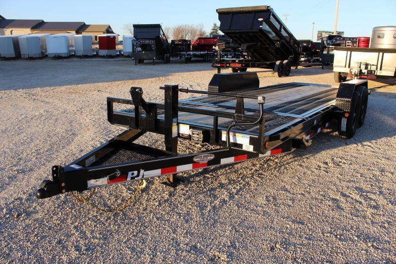 2020 PJ Trailers T6 20' tilt Equipment Trailer
