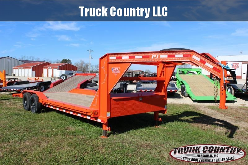 2020 PJ Trailers B6 superwide 24 gooseneck Equipment Trailer