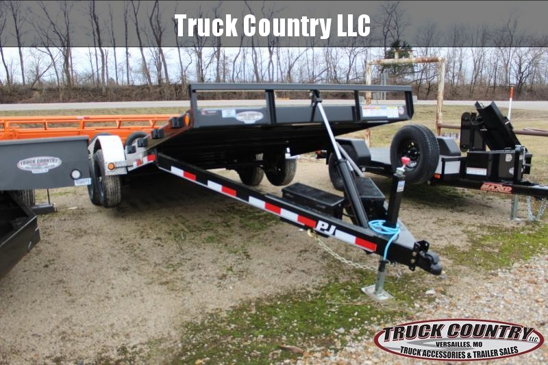 2020 PJ Trailers TH 20' quick tilt Car / Racing Trailer