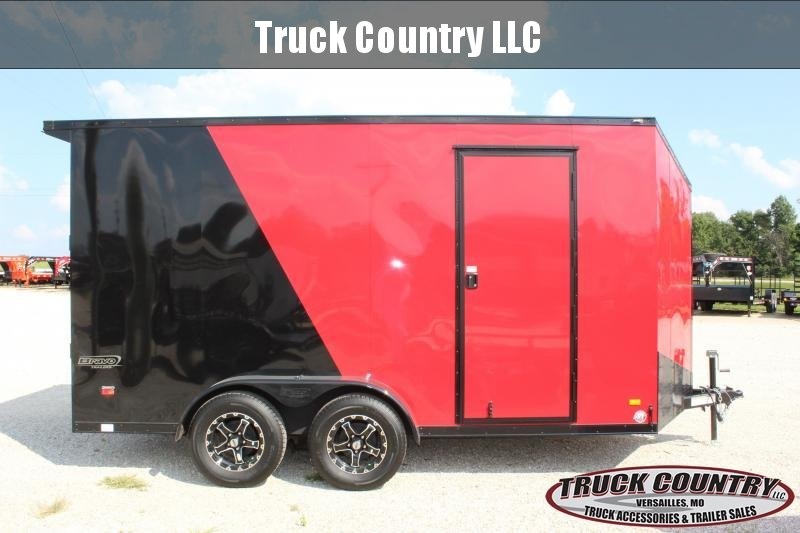 2020 Bravo Trailers 7x14 scout Enclosed Cargo Trailer