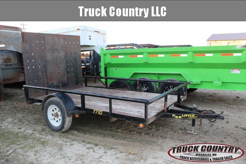 2014 Doolittle Trailer Mfg 10' Utility Trailer
