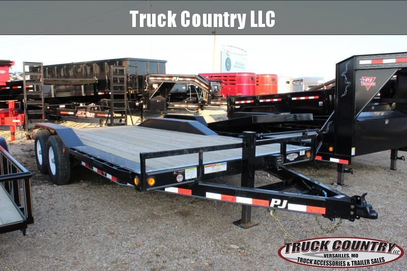 2019 PJ Trailers B6 18' superwide Equipment Trailer
