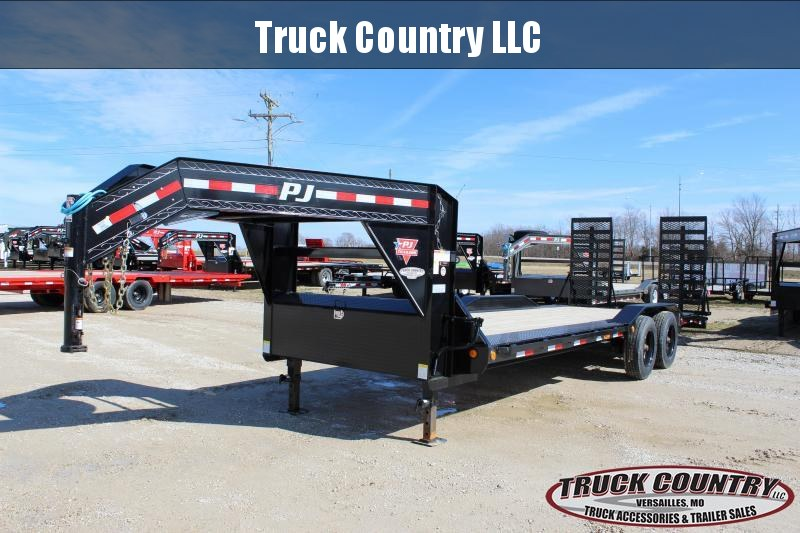 "2020 PJ Trailers H7 102""x24' gooseneck Equipment Trailer"