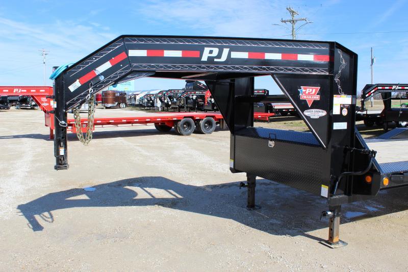 "2020 PJ Trailers H7 102""x24' gooseneck Equipment Trailer"