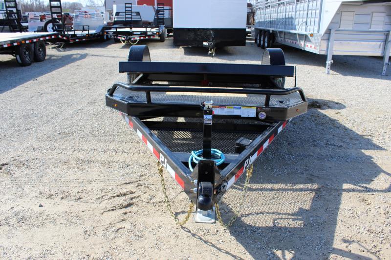 2020 PJ Trailers T1 16' tilt Equipment Trailer