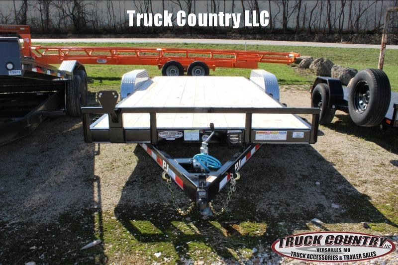 "2020 PJ Trailers C5 83""x18' Car / Racing Trailer"