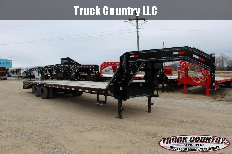 2018 Load Trail 32' gooseneck flatbed Flatbed Trailer
