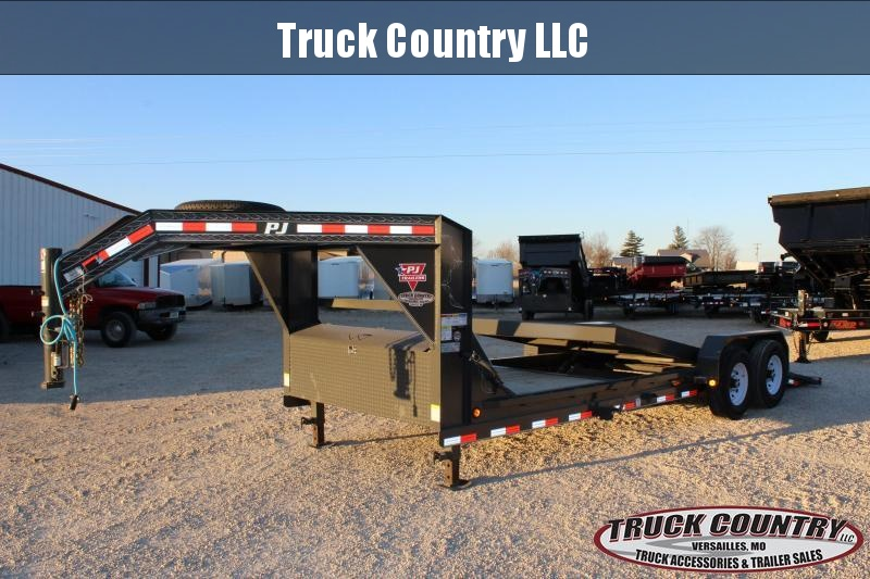 2020 PJ Trailers T6 22' gooseneck Equipment Trailer
