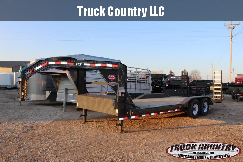 2020 PJ Trailers B6 22' gooseneck superwide Equipment Trailer
