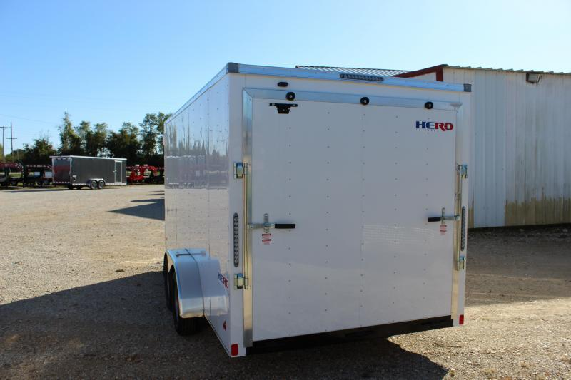 2020 Bravo Trailers 7x16 Hero Enclosed Cargo Trailer