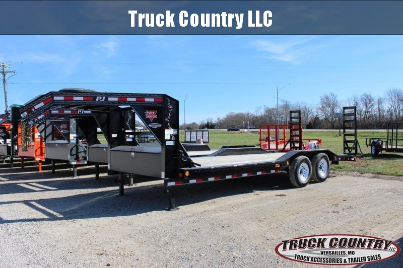 2020 PJ Trailers B6 102x22 gooseneck Equipment Trailer