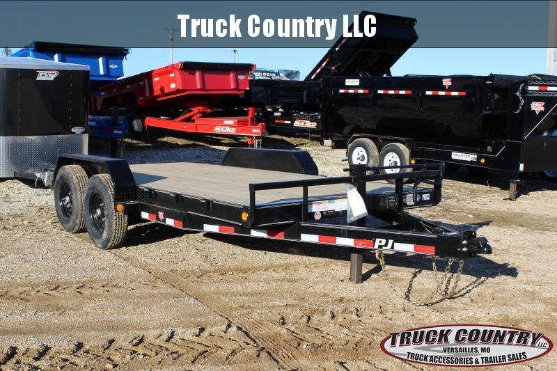 2020 PJ Trailers CC 16' Equipment Trailer