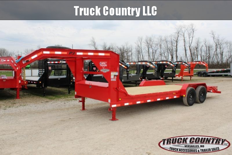 2020 PJ Trailers CC 22' gooseneck Equipment Trailer