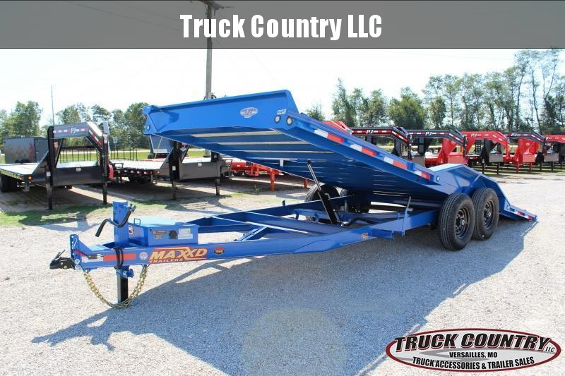 "2020 MAXXD T6X 102""x20' superwide tilt Equipment Trailer"