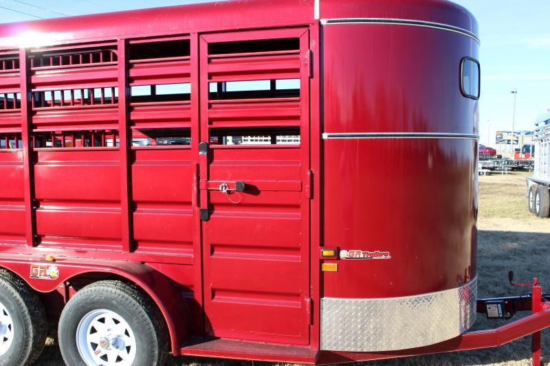 2019 GR Trailers 6x14 Livestock Trailer