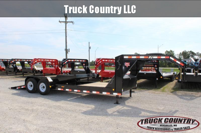 2020 PJ Trailers T6 22 gooseneck tilt Equipment Trailer