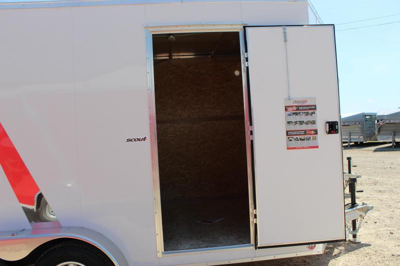 2019 Bravo Trailers 7x14 aluminum scout Enclosed Cargo Trailer
