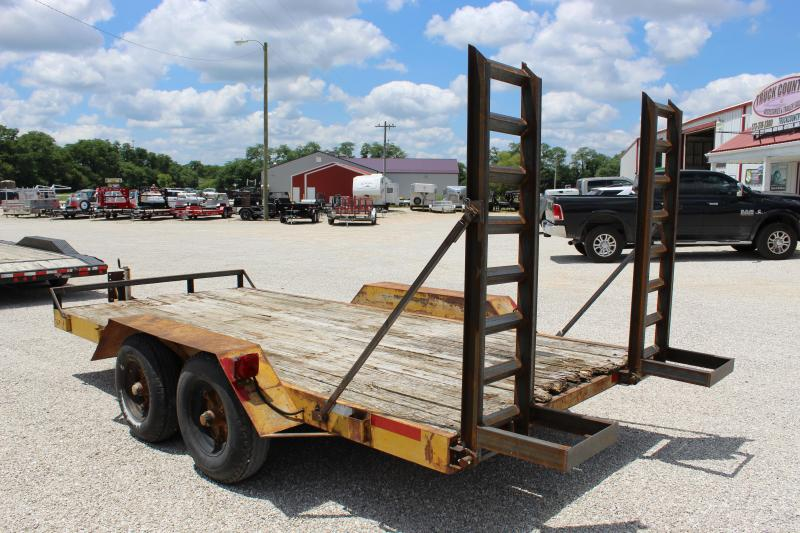 1978 Other 14' carhauler / equipment Utility Trailer