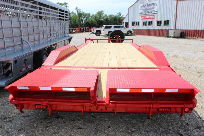 2020 PJ Trailers 22' B6 superwide Equipment Trailer